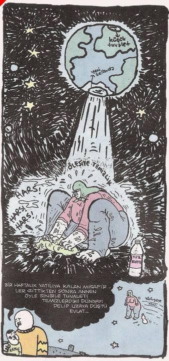 Bir haftalık yatılıya kalan misafirler gittikten sonra annen öyle sinirle tuvaleti temizledi ki dünyayı delip uzaya düştü evlat tuz ruhu
