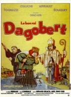 """Bu da Good King Dagobert (1984) """"Le bon roi Dagobert"""" adlı filmin soundtrack albümünün kapağı."""