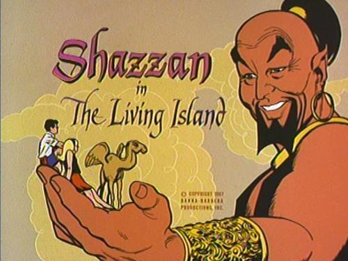Uçan deve Kaboobie 60'larda Hanna-Barbera çizgifilm serisi Shazzan'dan