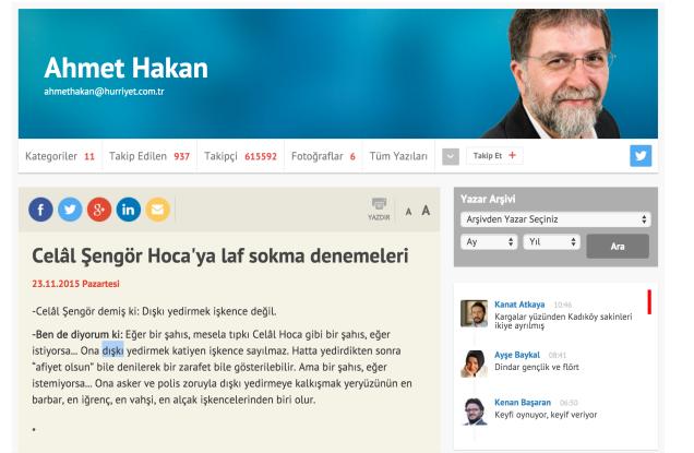 Celâl Şengör Hoca'ya laf sokma denemeleri - Ahmet Hakan